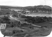 Torvhuset rundt 1960. Utlån Rolf Eikås